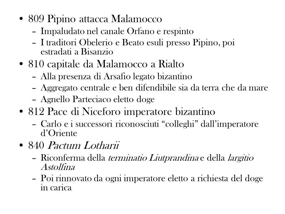 809 Pipino attacca Malamocco