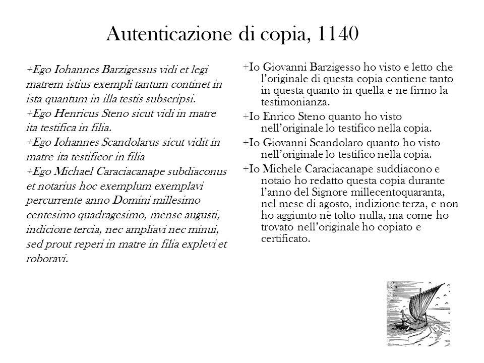 Autenticazione di copia, 1140