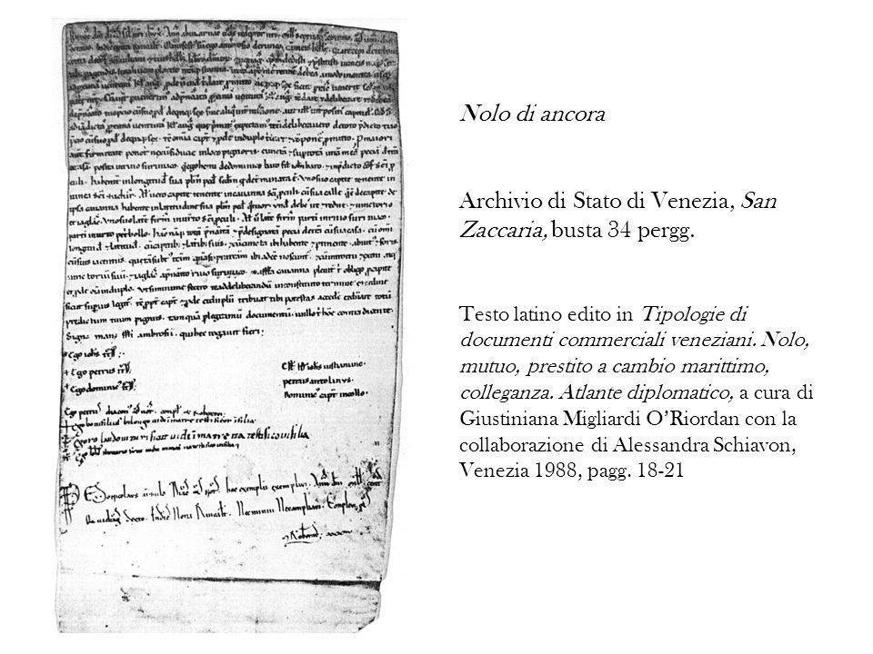 Archivio di Stato di Venezia, San Zaccaria, busta 34 pergg.