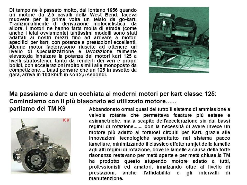 Ma passiamo a dare un occhiata ai moderni motori per kart classe 125: