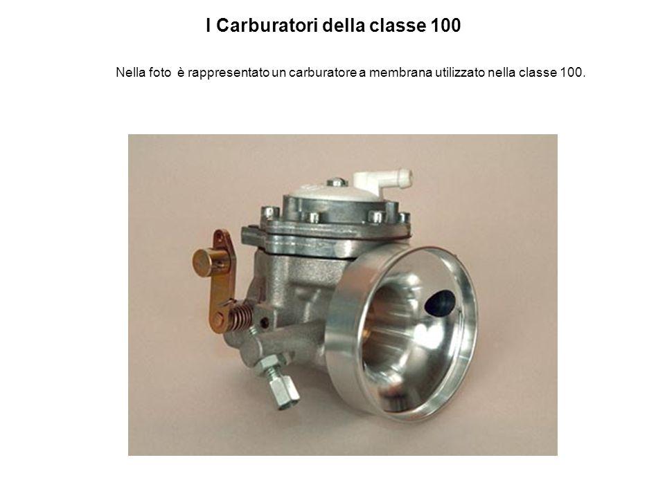 I Carburatori della classe 100