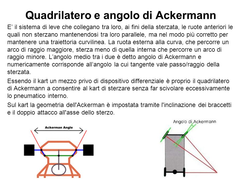 Quadrilatero e angolo di Ackermann