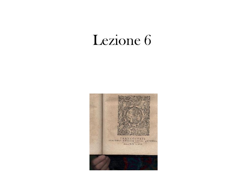 Lezione 6
