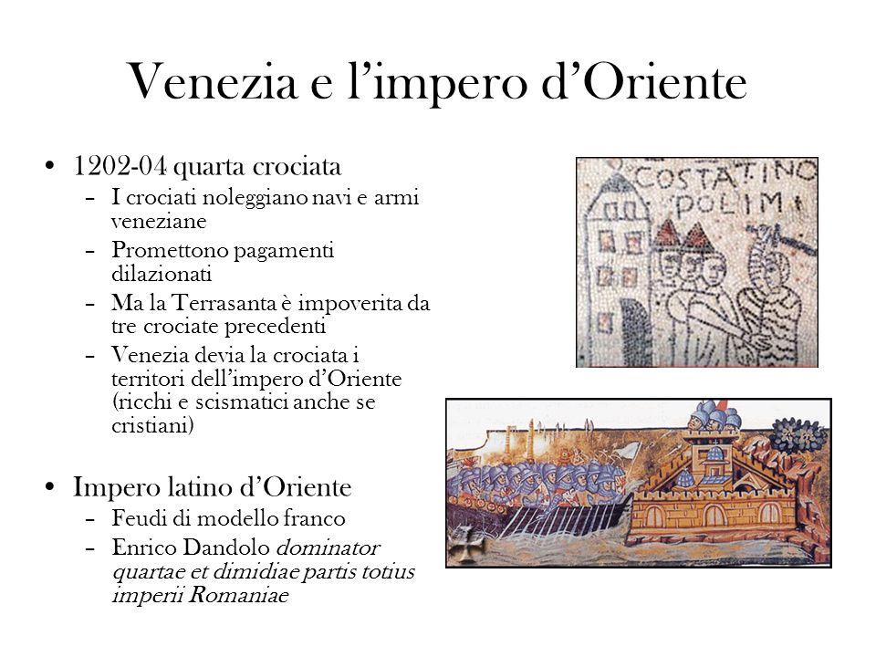 Venezia e l'impero d'Oriente