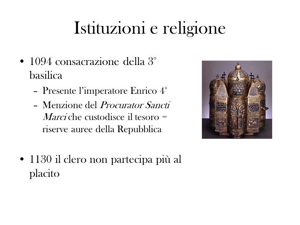 Istituzioni e religione