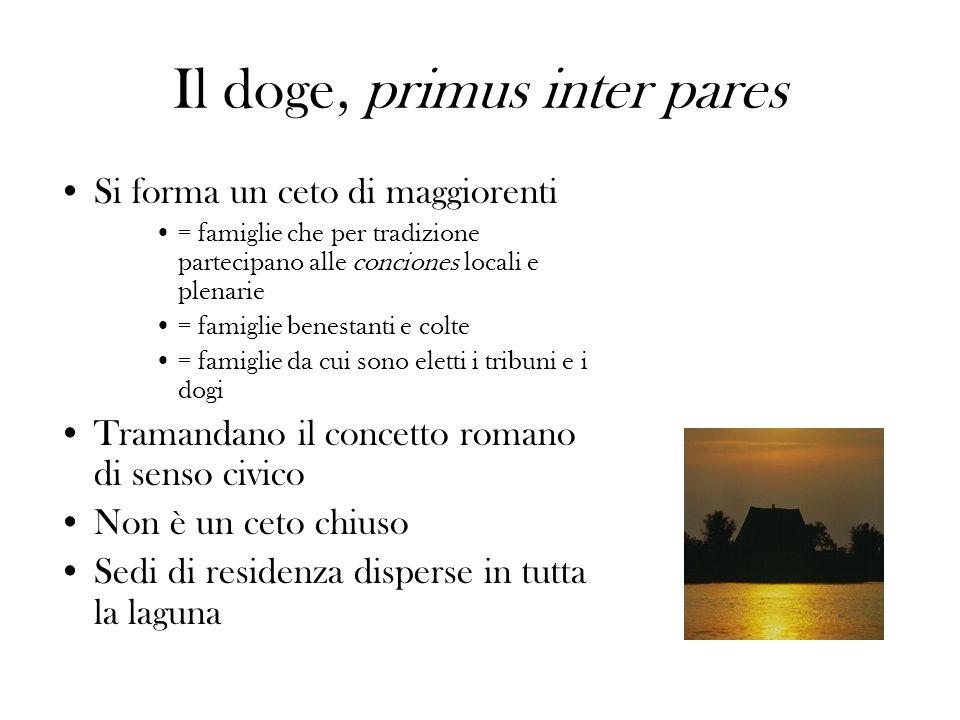 Il doge, primus inter pares