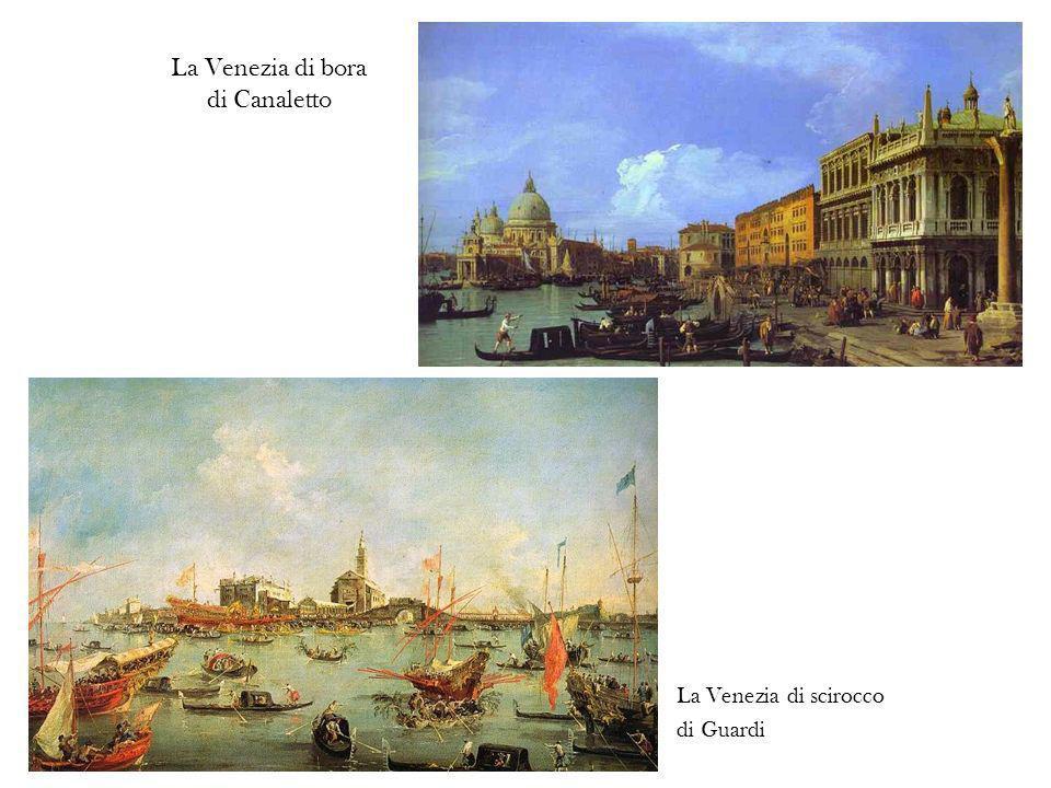 La Venezia di bora di Canaletto