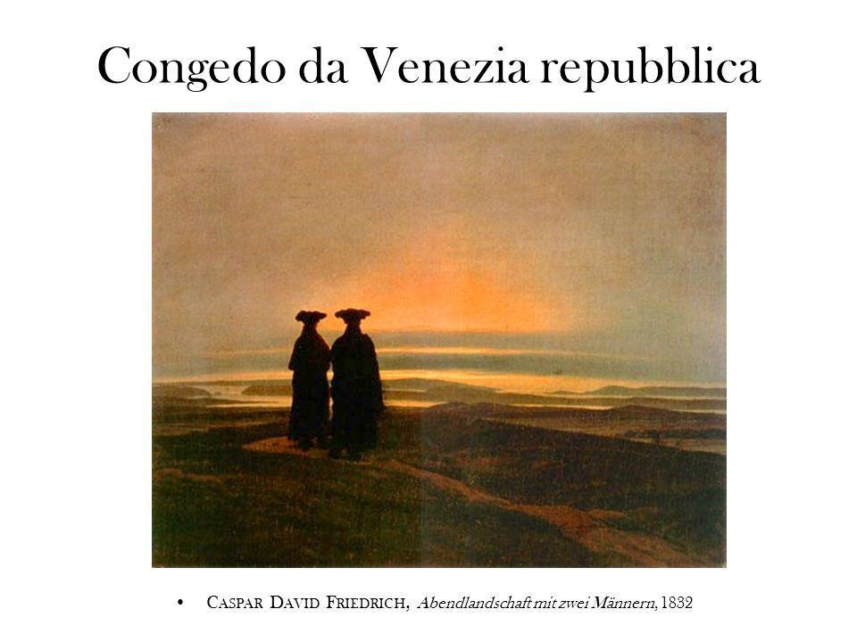 Congedo da Venezia repubblica