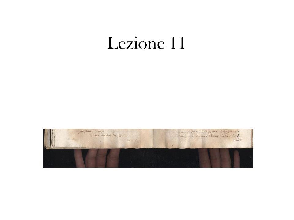 Lezione 11