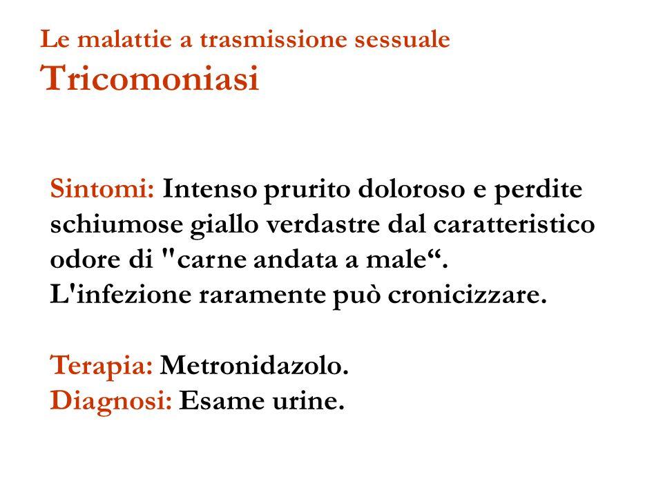 Le malattie a trasmissione sessuale Tricomoniasi