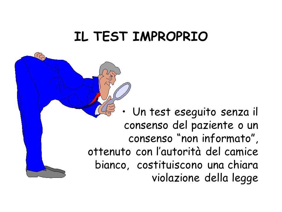 IL TEST IMPROPRIO
