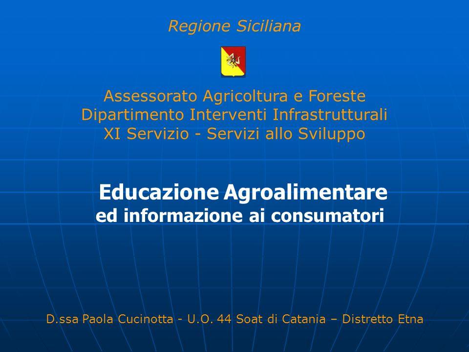 Educazione Agroalimentare ed informazione ai consumatori
