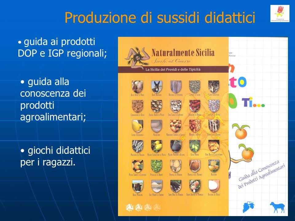 Produzione di sussidi didattici