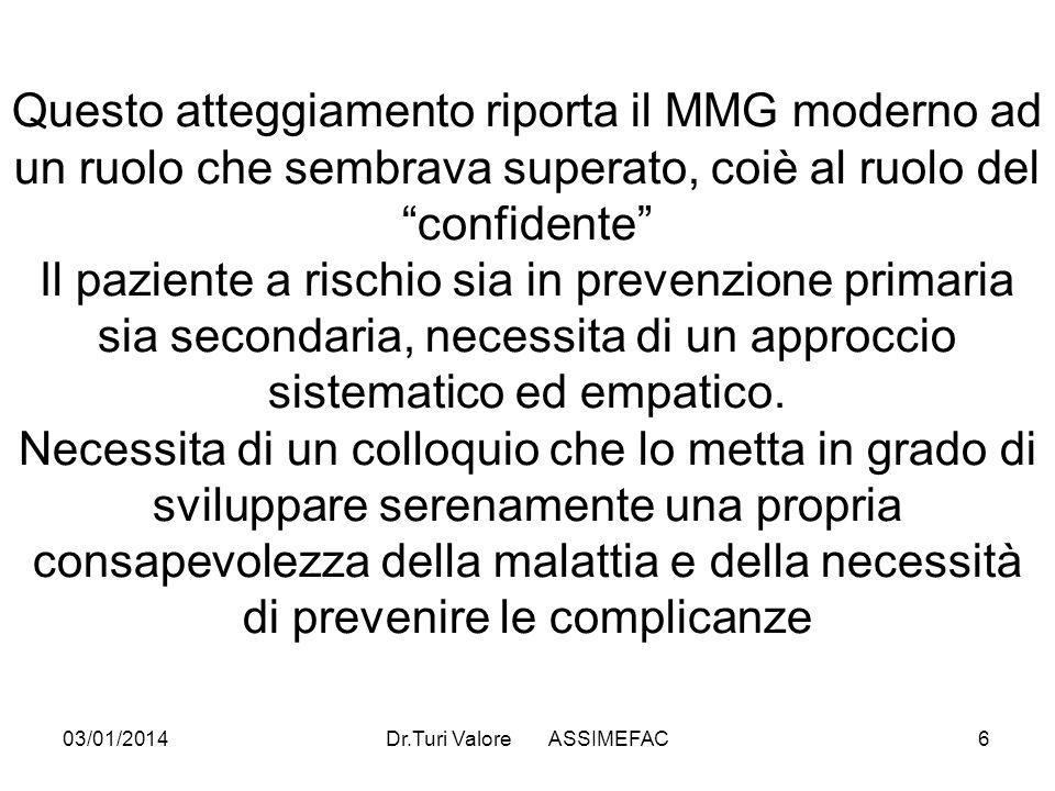 Dr.Turi Valore ASSIMEFAC
