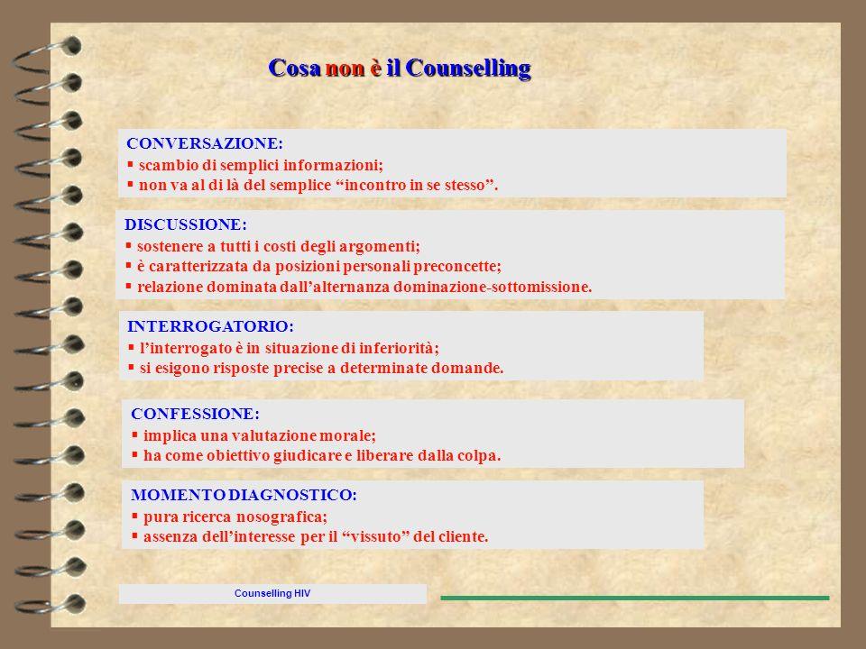 Cosa non è il Counselling