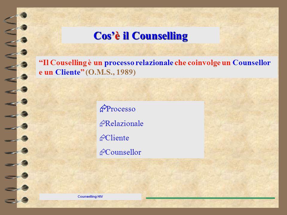 Cos'è il Counselling Processo