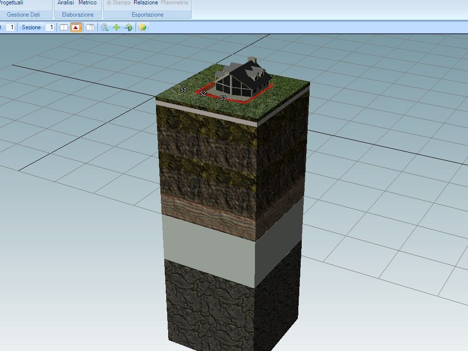 Software geotermia GEOSTRU Geoborehole3D