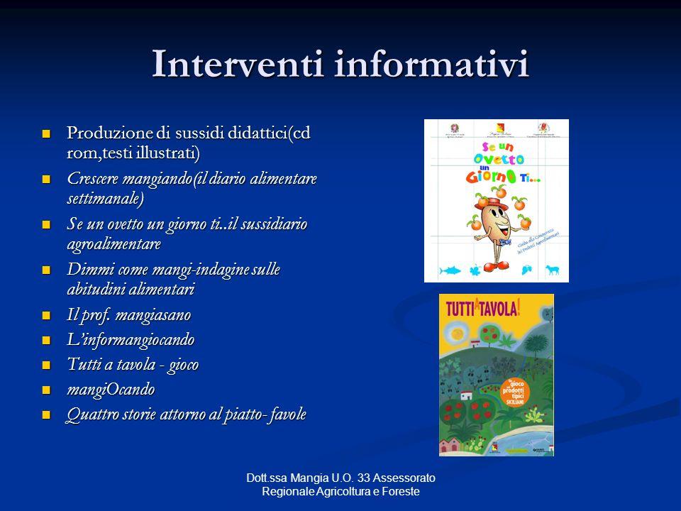 Interventi informativi