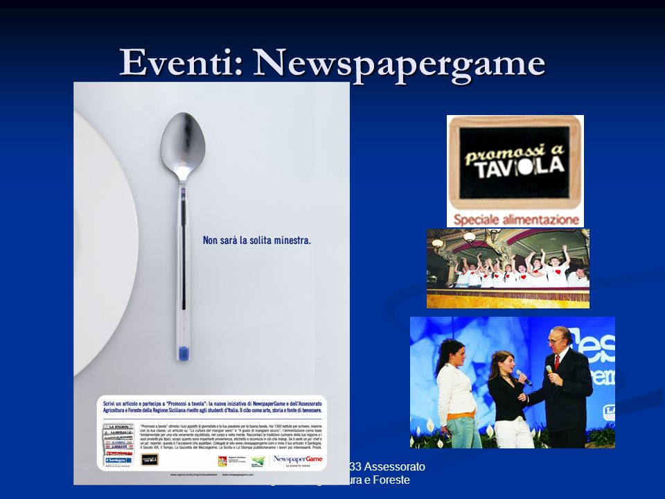 Eventi: Newspapergame