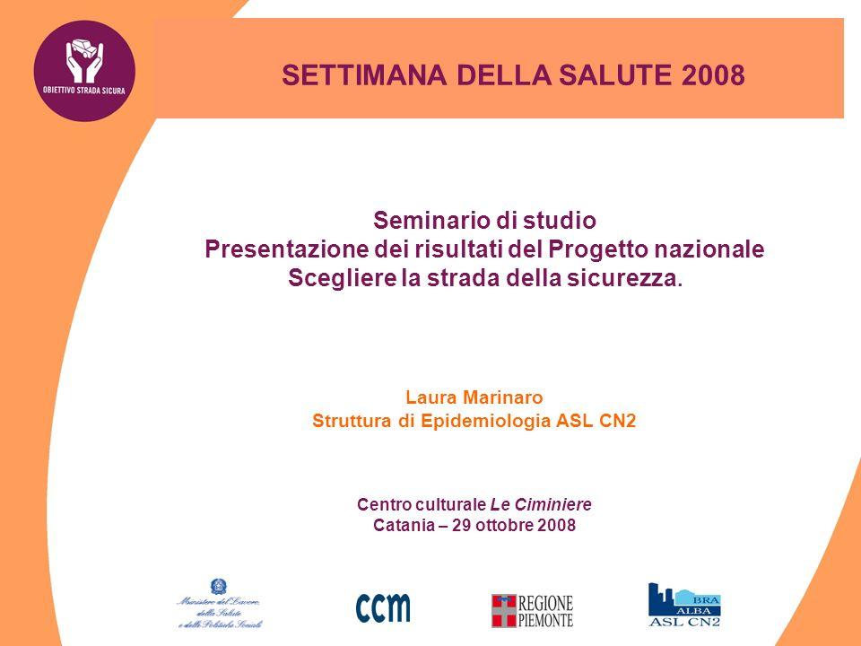 SETTIMANA DELLA SALUTE 2008