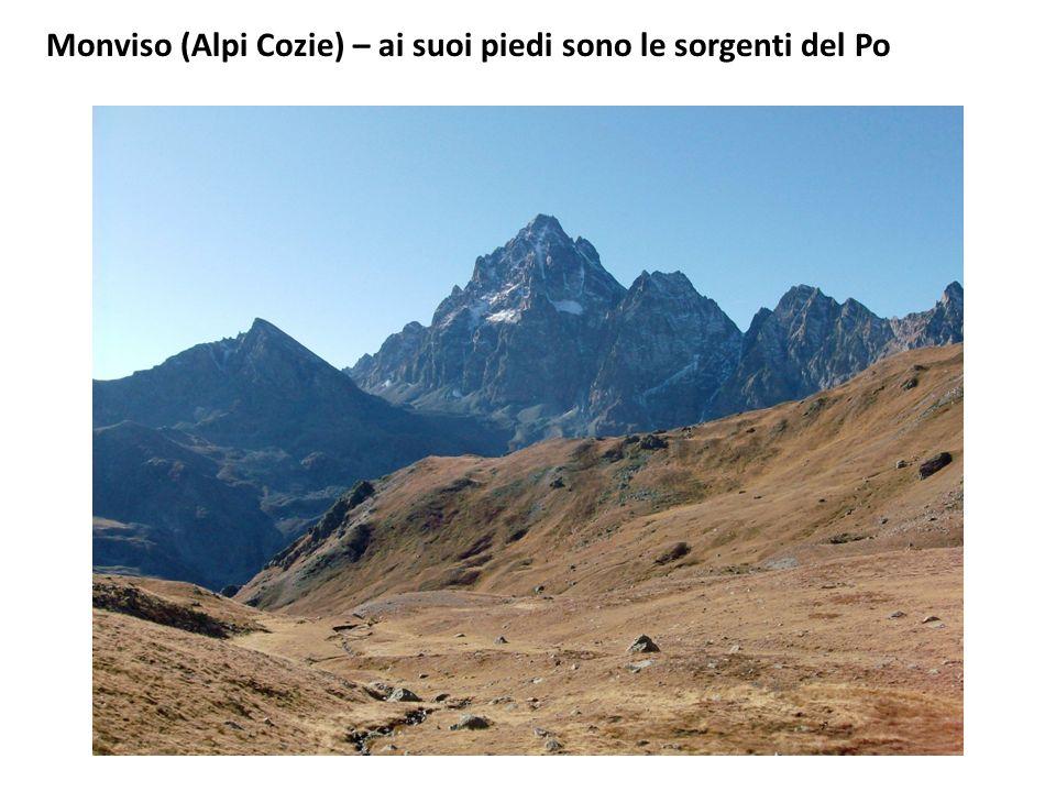 Monviso (Alpi Cozie) – ai suoi piedi sono le sorgenti del Po