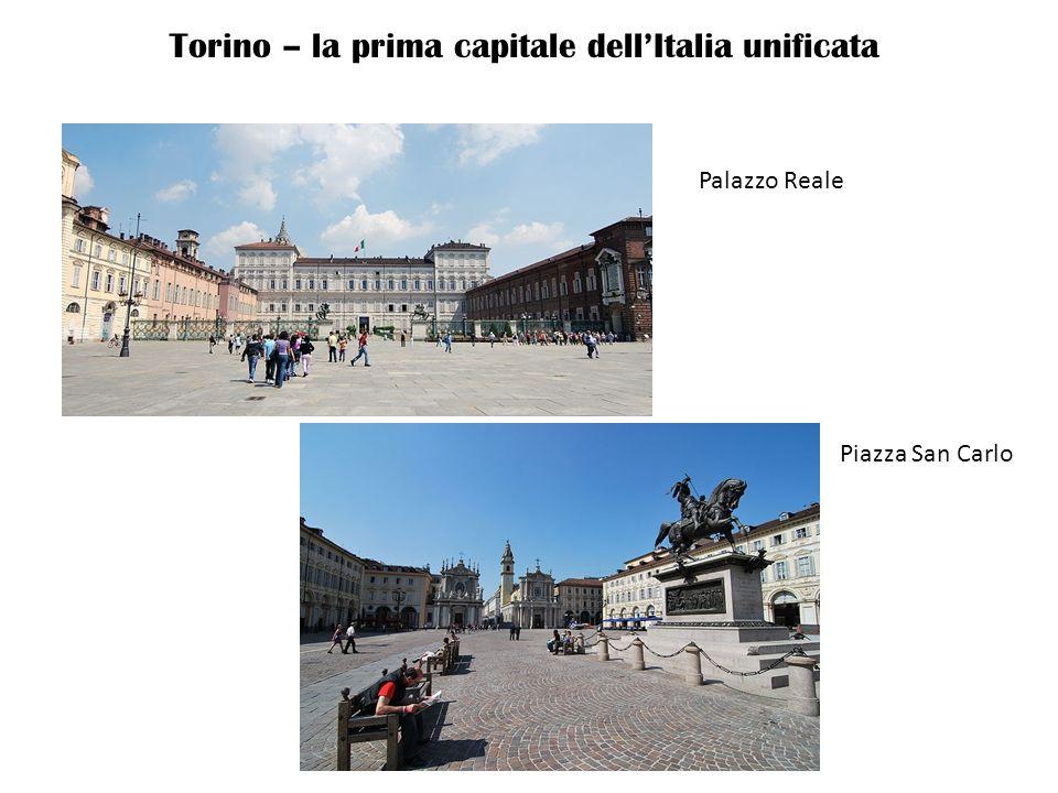 Torino – la prima capitale dell'Italia unificata