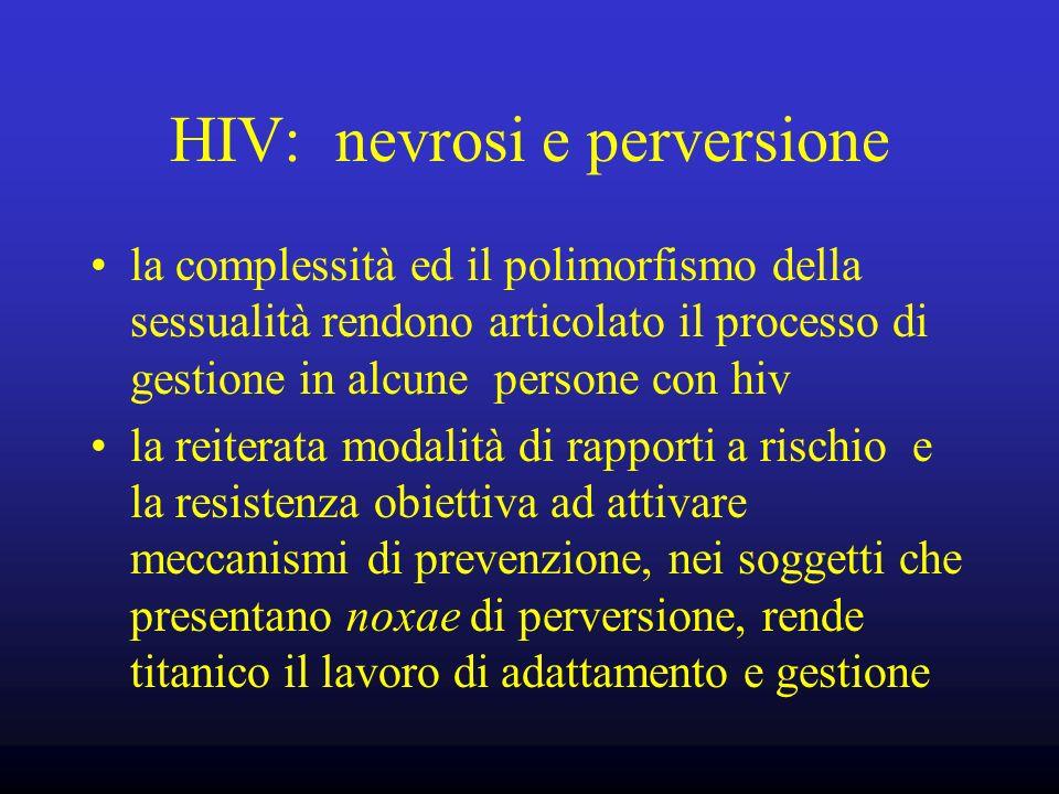 HIV: nevrosi e perversione