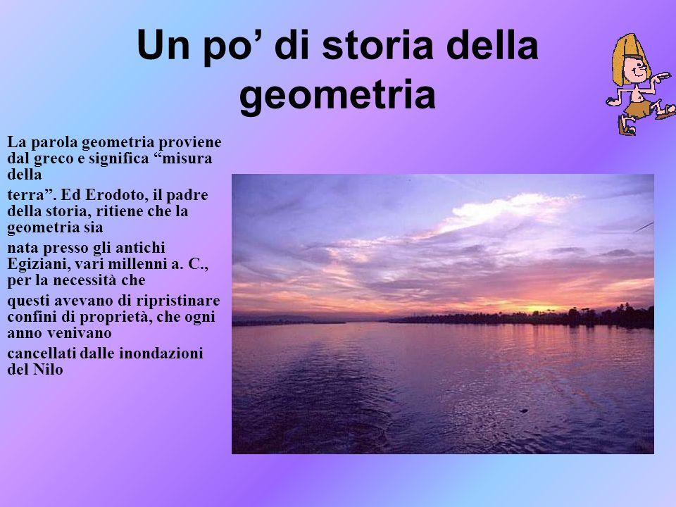 Un po' di storia della geometria