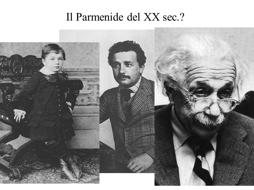 Il Parmenide del XX sec.