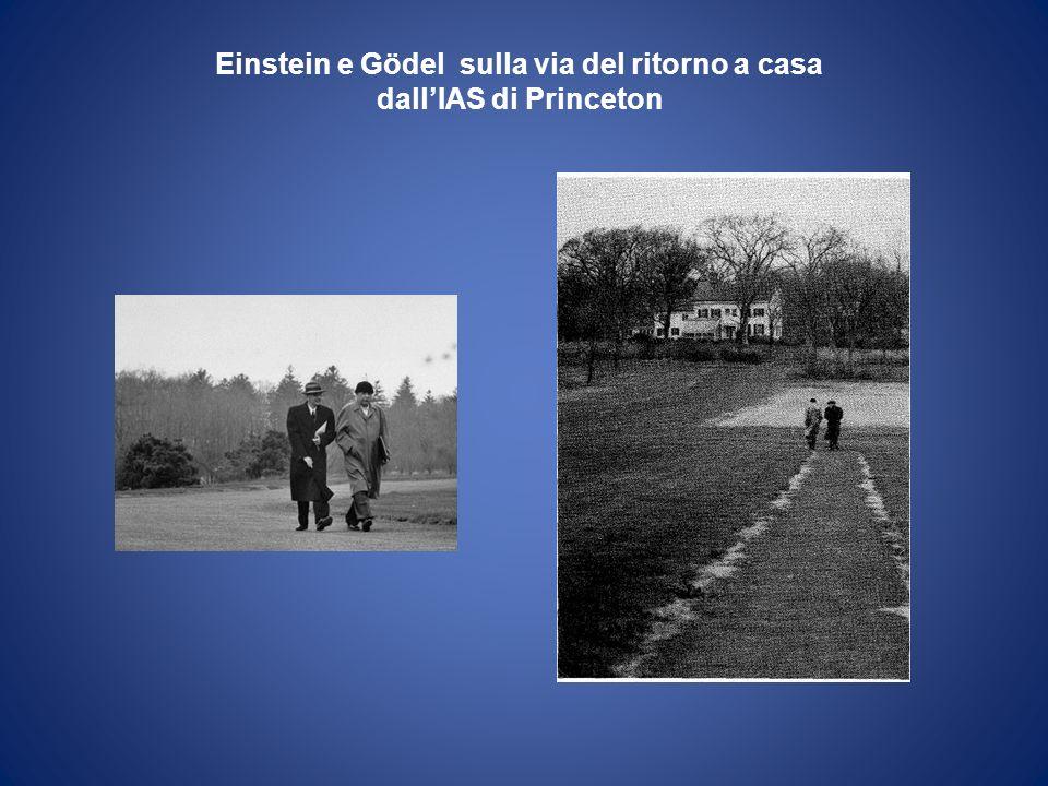 Einstein e Gödel sulla via del ritorno a casa