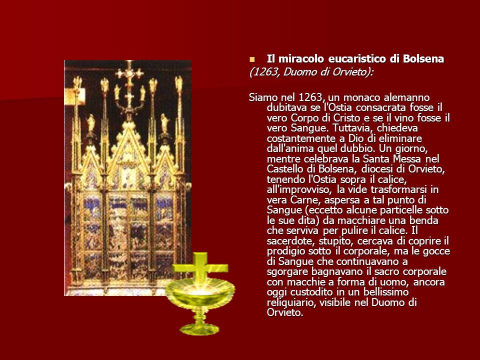 Il miracolo eucaristico di Bolsena