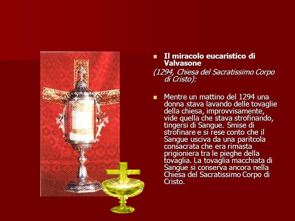 Il miracolo eucaristico di Valvasone