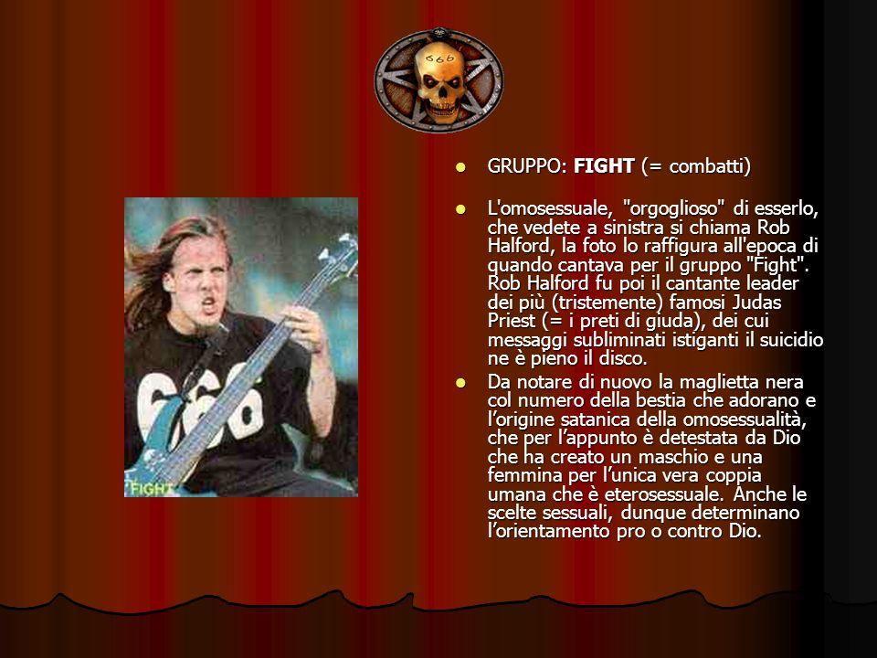 GRUPPO: FIGHT (= combatti)