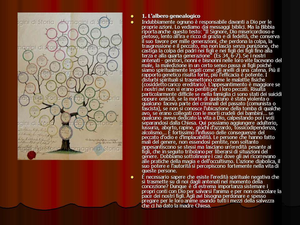 1. L albero genealogico