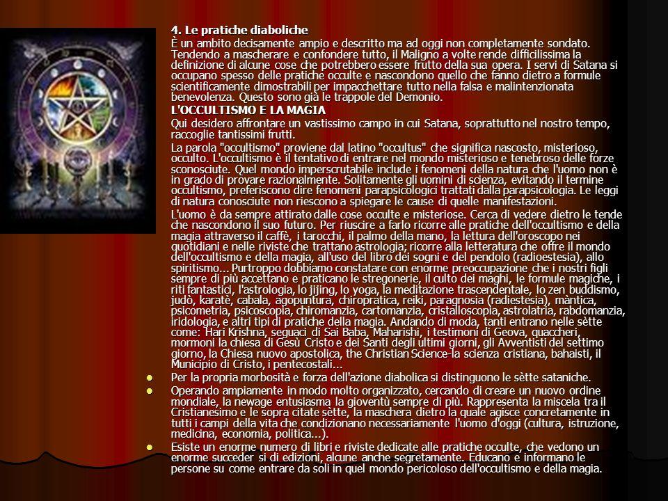 4. Le pratiche diaboliche