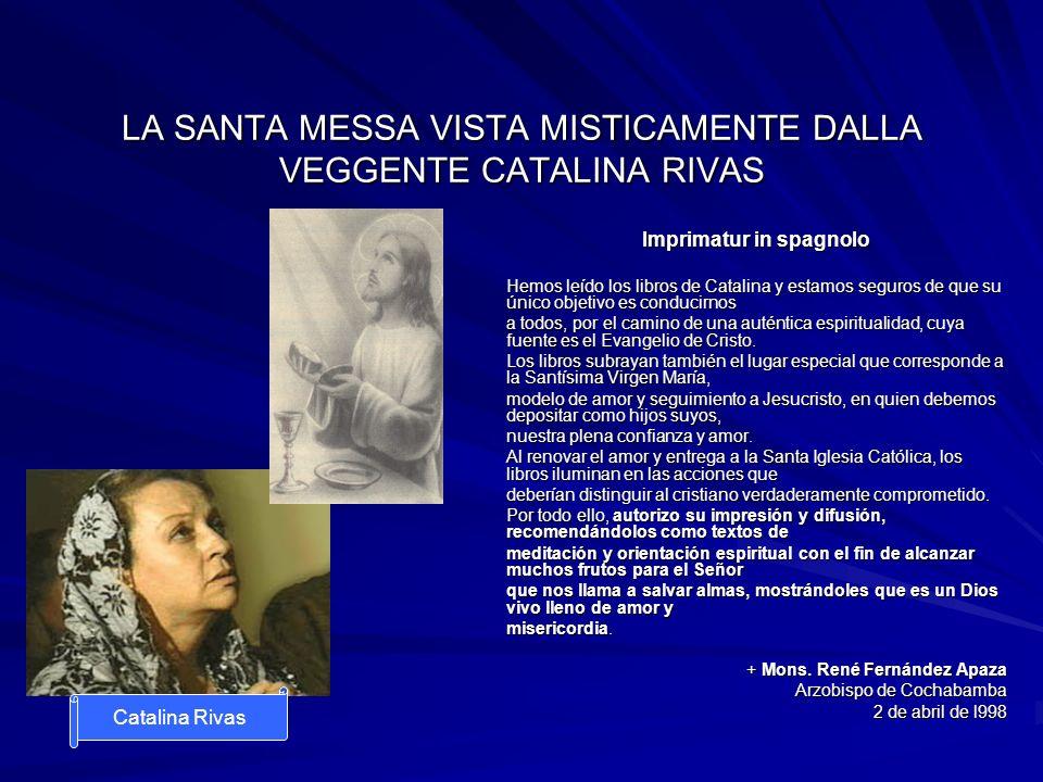 LA SANTA MESSA VISTA MISTICAMENTE DALLA VEGGENTE CATALINA RIVAS