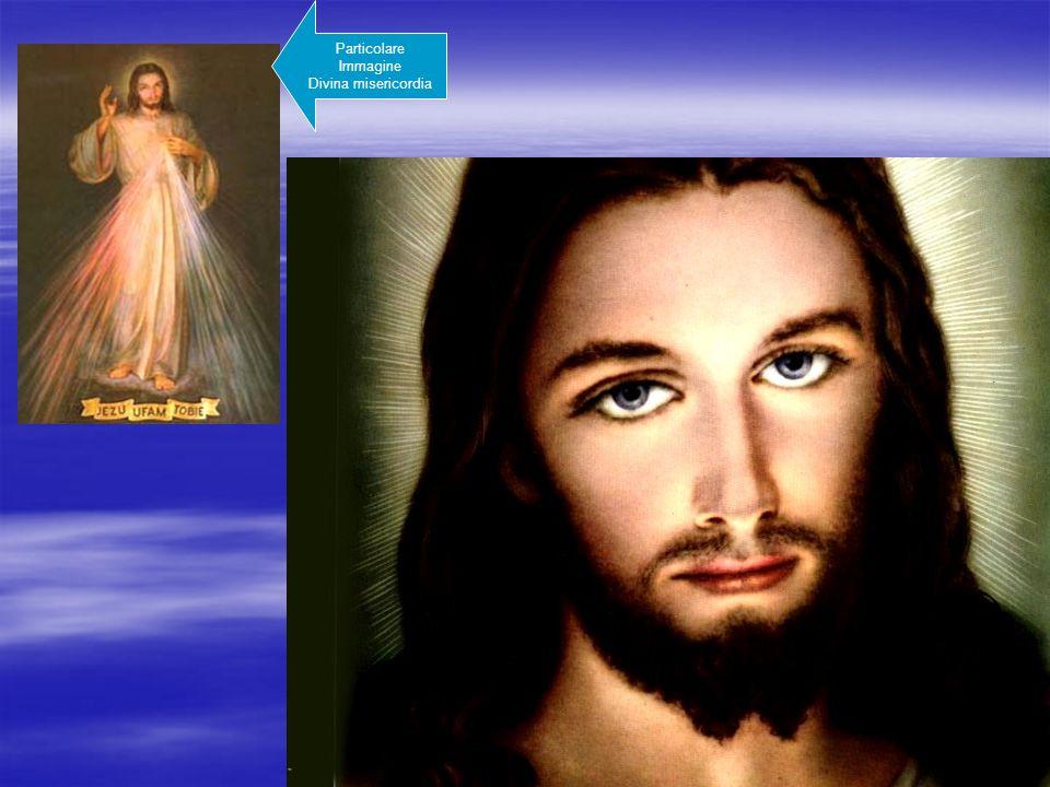 Particolare Immagine Divina misericordia