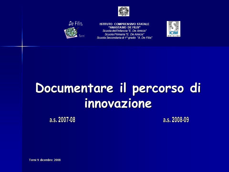 Documentare il percorso di innovazione