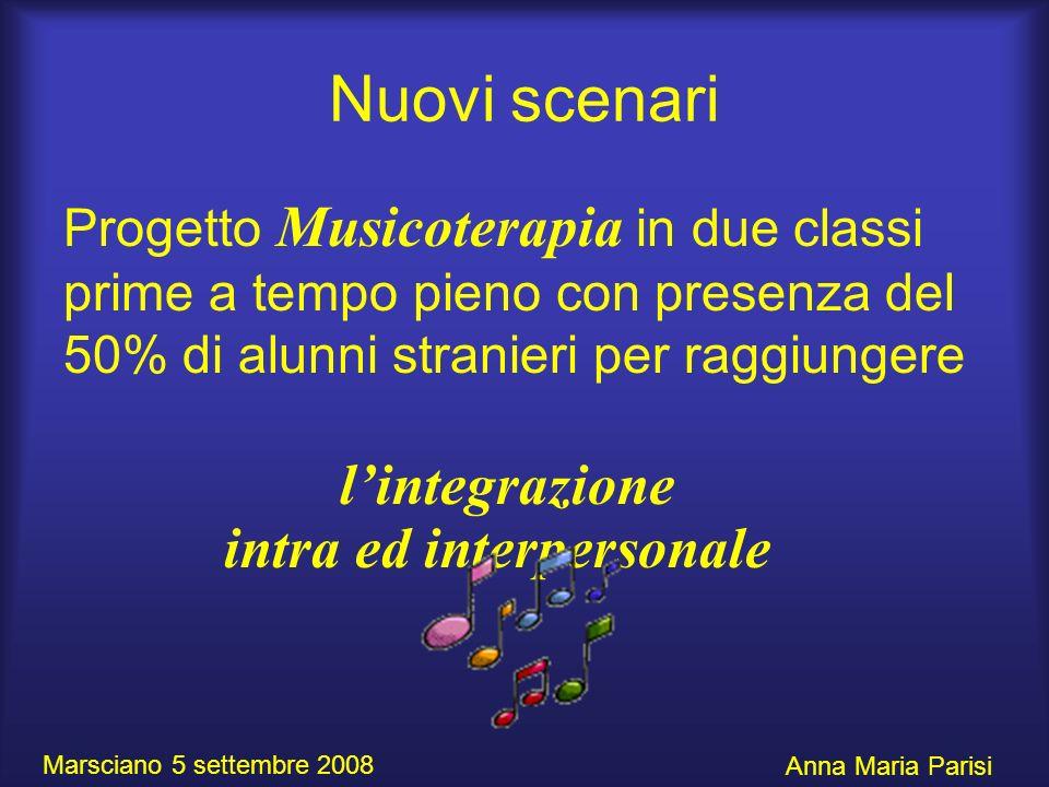 Nuovi scenari l'integrazione intra ed interpersonale