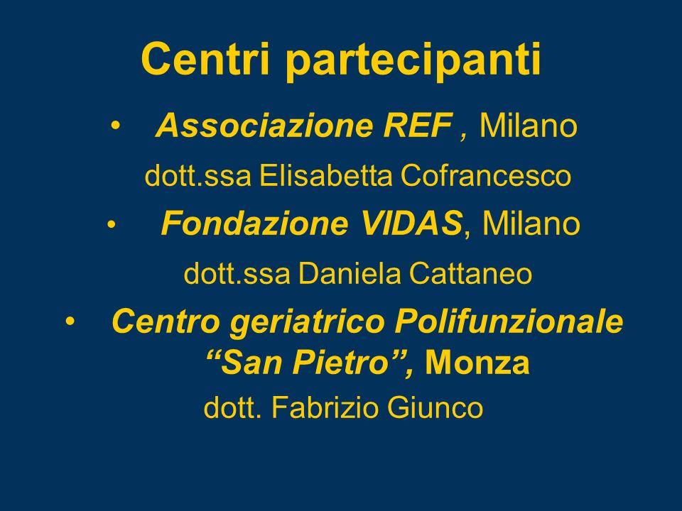 Centro geriatrico Polifunzionale San Pietro , Monza