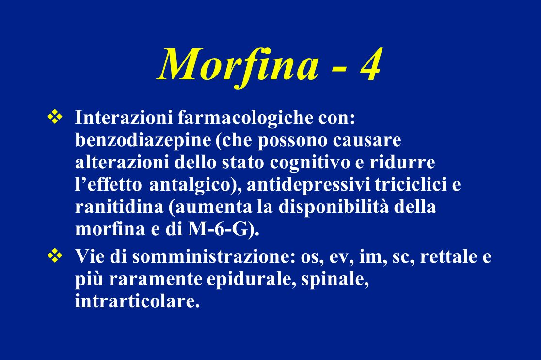 Morfina - 4