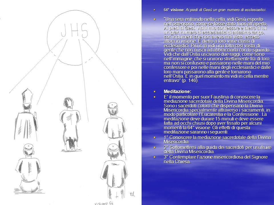1° Conoscere la mediazione sacerdotale della Divina Misericordia.