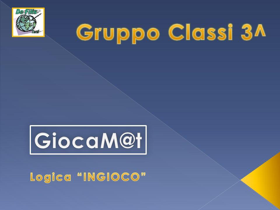 Gruppo Classi 3^ GiocaM@t