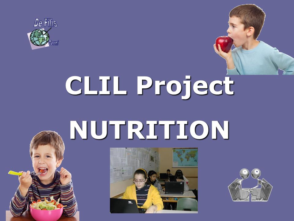 CLIL Project NUTRITION