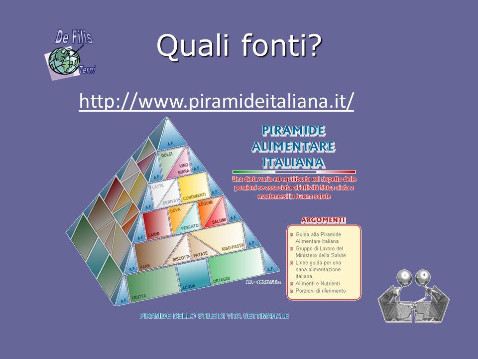 Quali fonti http://www.piramideitaliana.it/