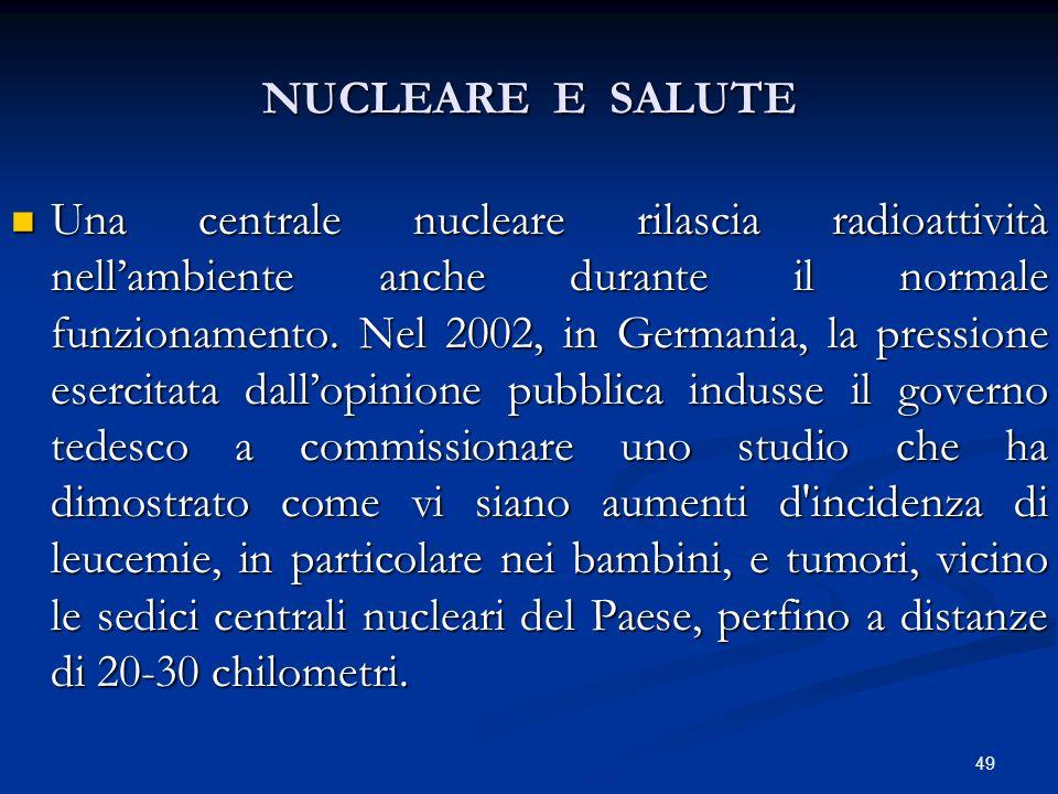 NUCLEARE E SALUTE