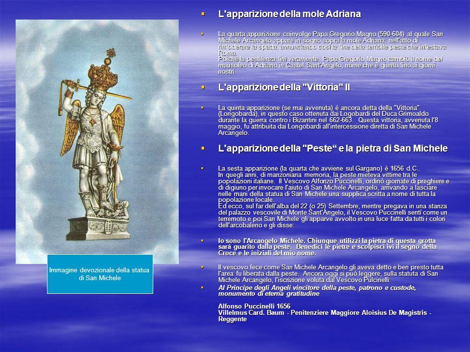 Immagine devozionale della statua