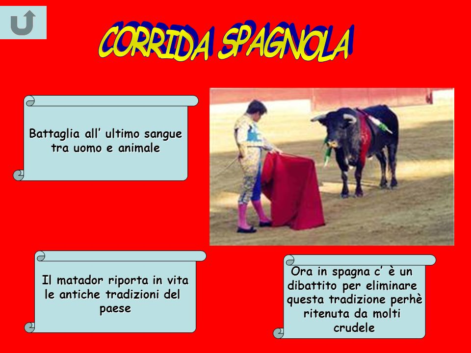 CORRIDA SPAGNOLA Battaglia all' ultimo sangue tra uomo e animale