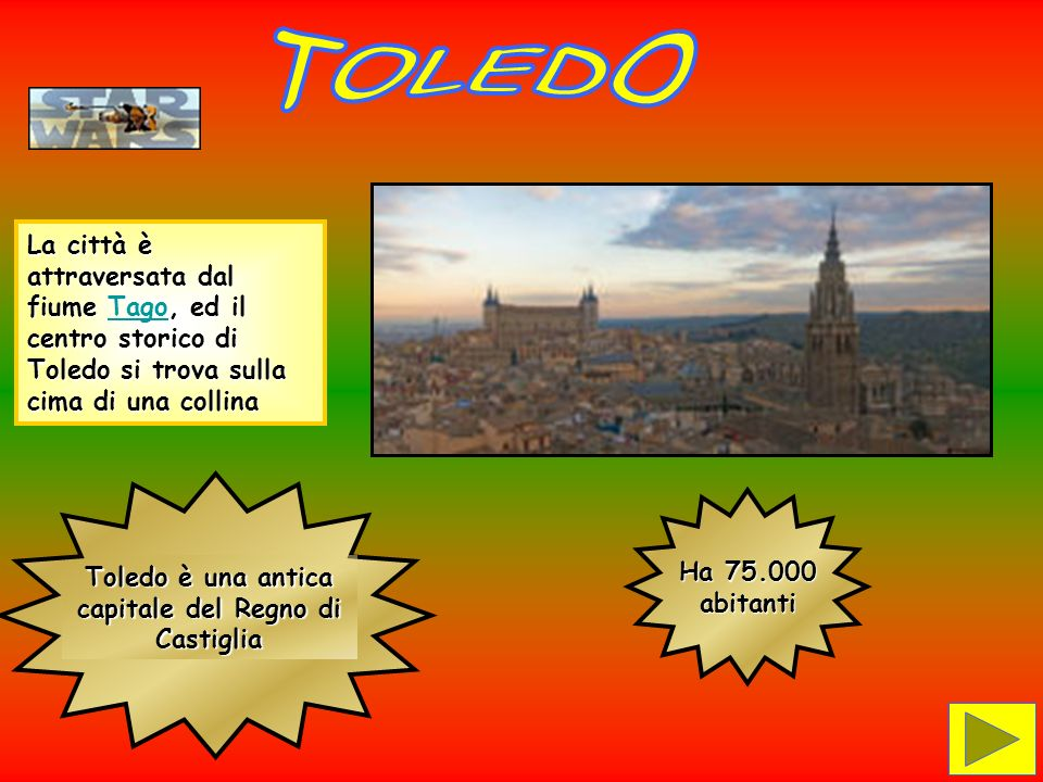 Toledo è una antica capitale del Regno di Castiglia