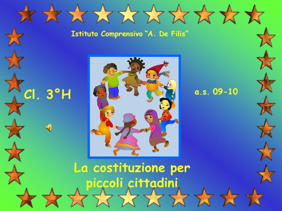 La costituzione per piccoli cittadini